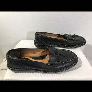 Born Wmn's Sz9 Loafer Shoes Leather #A72